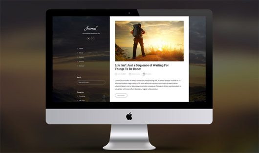 Journal Blog Template by SuitsTheme