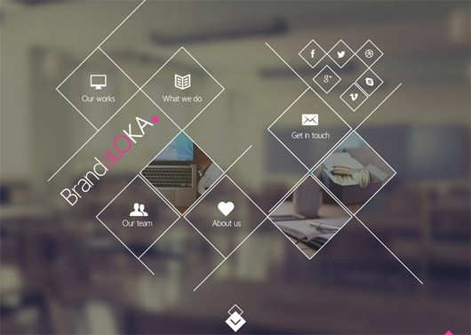 Creative Onepage PSD Template by Andreansyah Setiawan