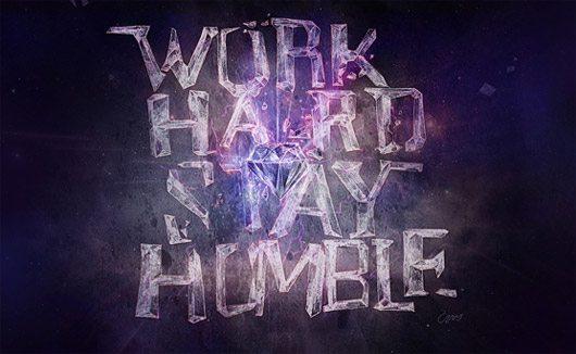 STAY HUMBLE by Patrick Hafner
