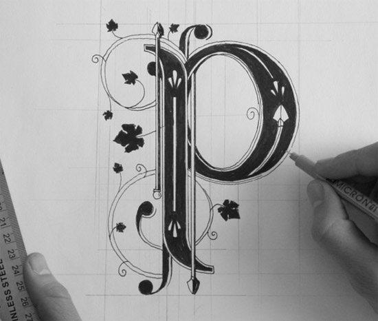 Hand Lettering by  Ben Johnston