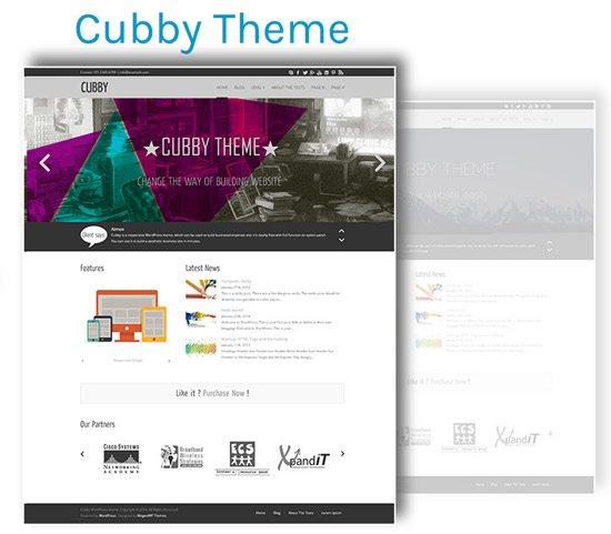 Cubby Theme
