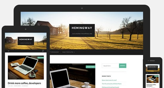Hemingway WordPress Theme
