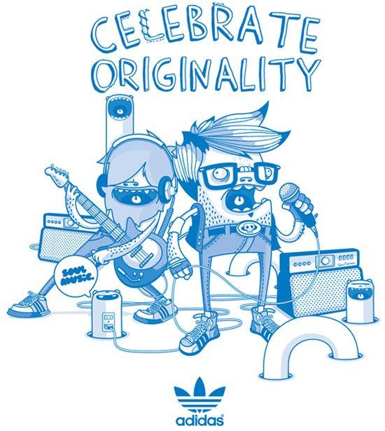 Adidas Original by Julian Ardila