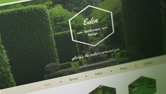 Theme for Exterior Design Website