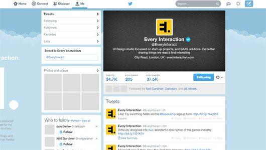 Twitter GUI 2014