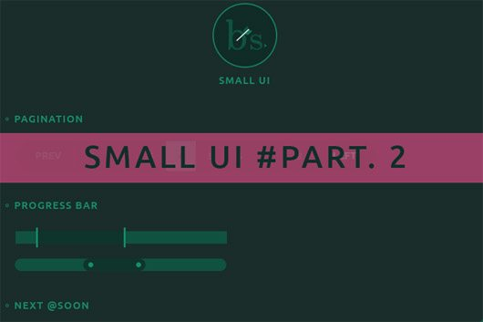Small UI #Freebies Part. 2 by Brice Séraphin