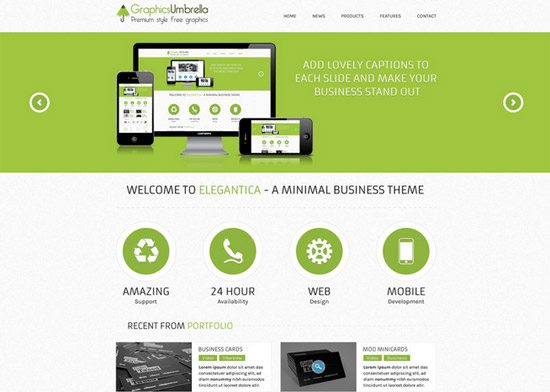 CORPORATE BUSINESS WEBSITE TEMPLATE