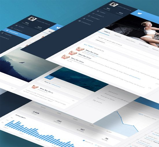Twitter - Redesign of UI details by Grégoire Vella
