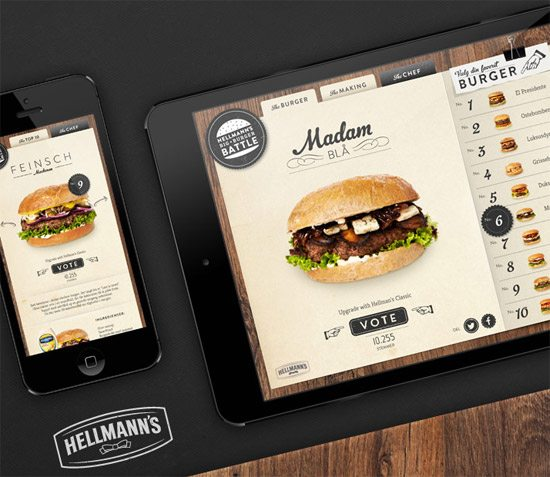 Hellmann's Facebook App