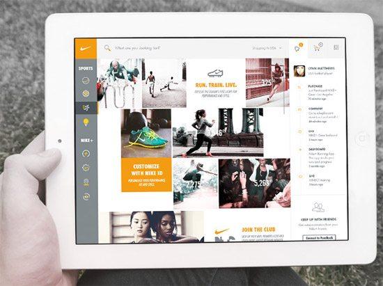 Nike UI/UX