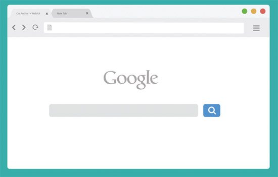 Chrome Browser Mockup - Light Version by Arun
