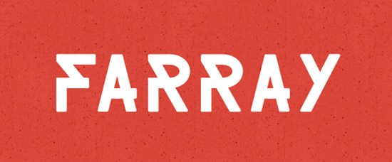 FARRAY FONT by Adrien Coquet