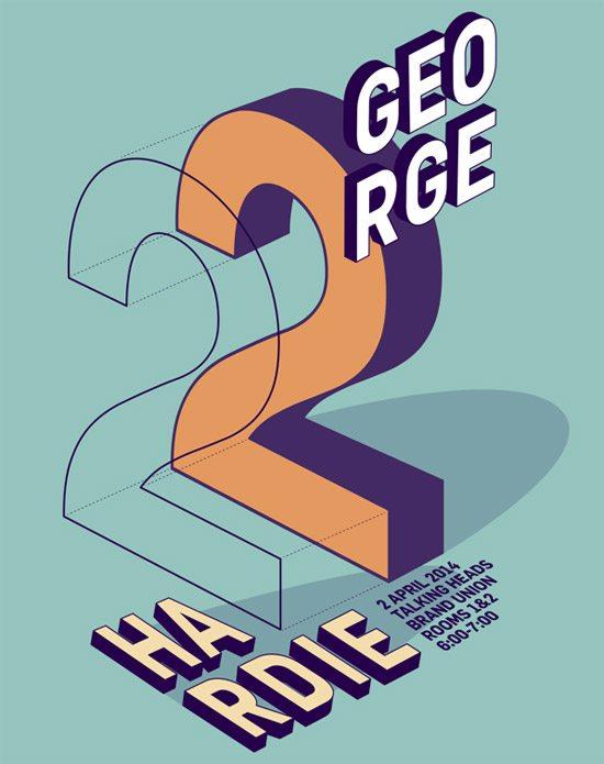 George Hardie Poster by Anna Vasileiou