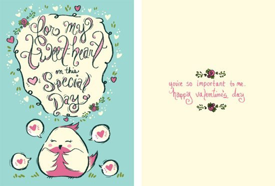 Lovebird Cards by Michelle Elizabeth