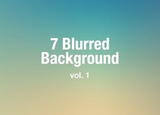 7 Blurred Background vol.1