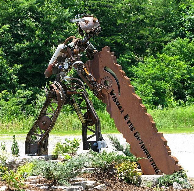 Statue Ad near Fairview NC