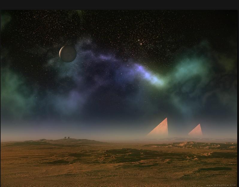 New pyramids