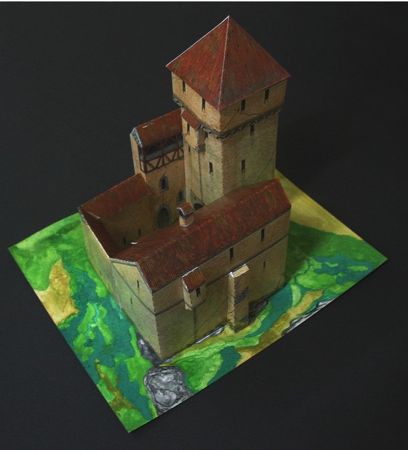 Paper Craft do Castelo Hornfeld