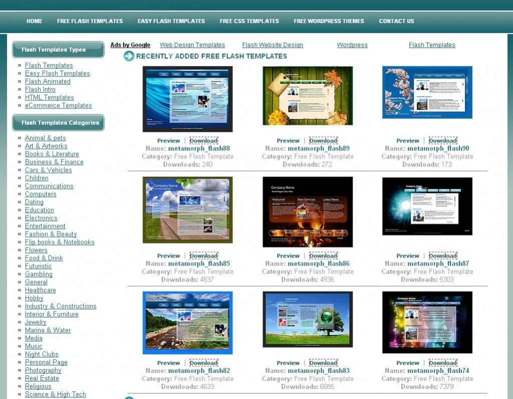 Создание флеш сайты бесплатно европейский сайт создание