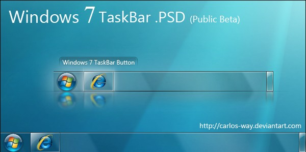 Windows 7 Taskbar