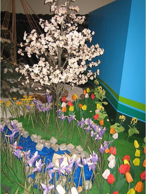 Paper garden