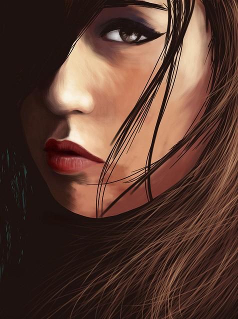 Portrait of Sadie by Rubense LP