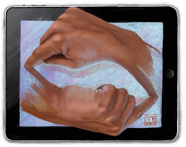 Fingerpainting by Joseandres Guijarro