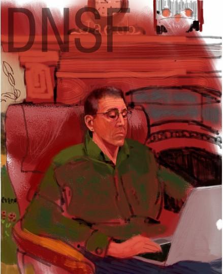 iPad Portrait of Peter A. Blacksberg
