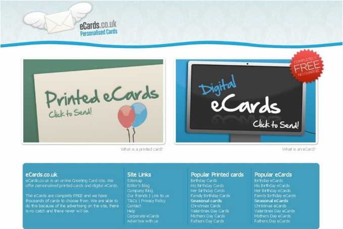 There you can find set of free ecards.