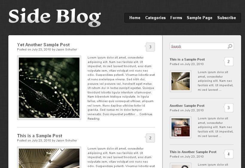 Side Blog