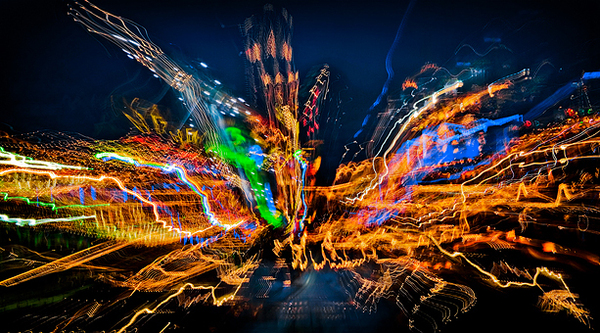 Magic of city lights