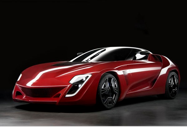 Bertone Mantide — part Corvette ZR1