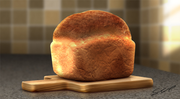 Create A Realistic Loaf of Bread