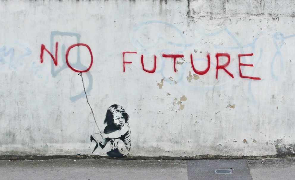 Amazing painting from famouse urbanist artist Banksy