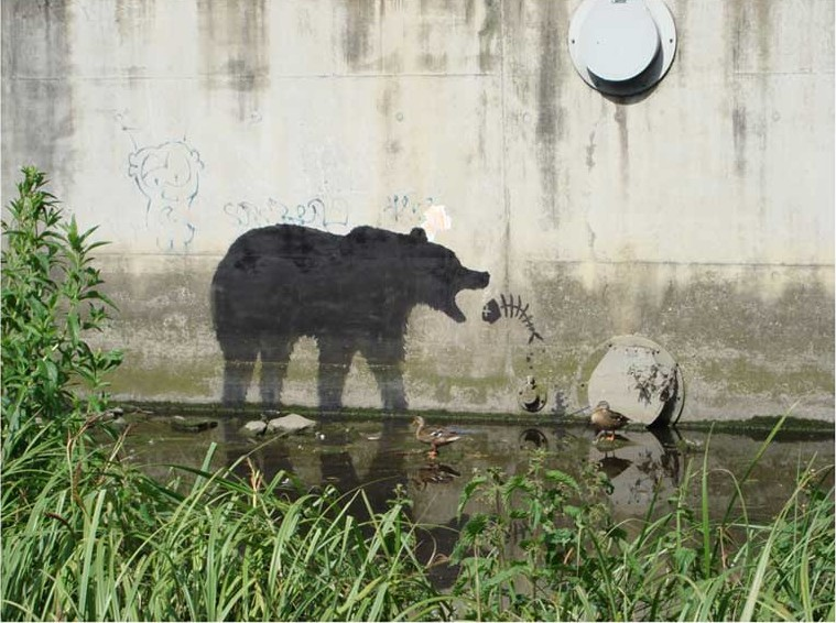 Nature problems by Banksy
