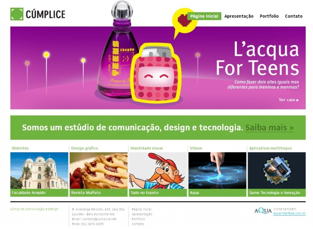 Portfolio of a Brazilian agency