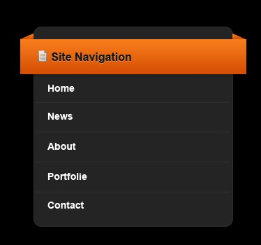 Dark site navigation