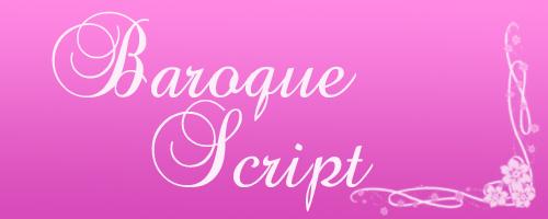 Baroque Script