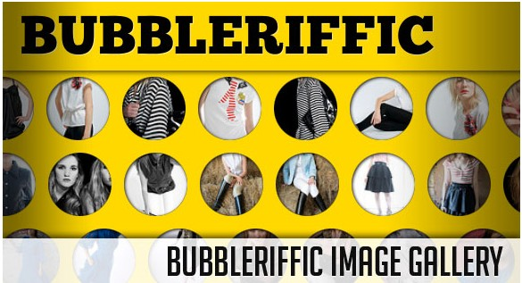 Bubbleriffic Image Gallery with jQuery