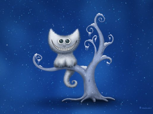 A Cheshire Kitten (Christmas)