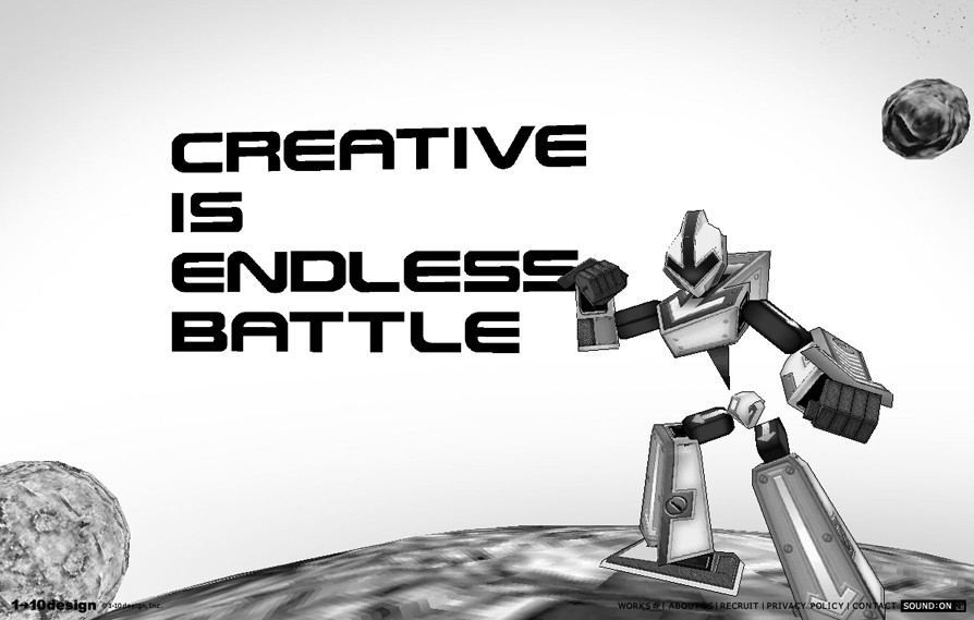 Creative is endless battle