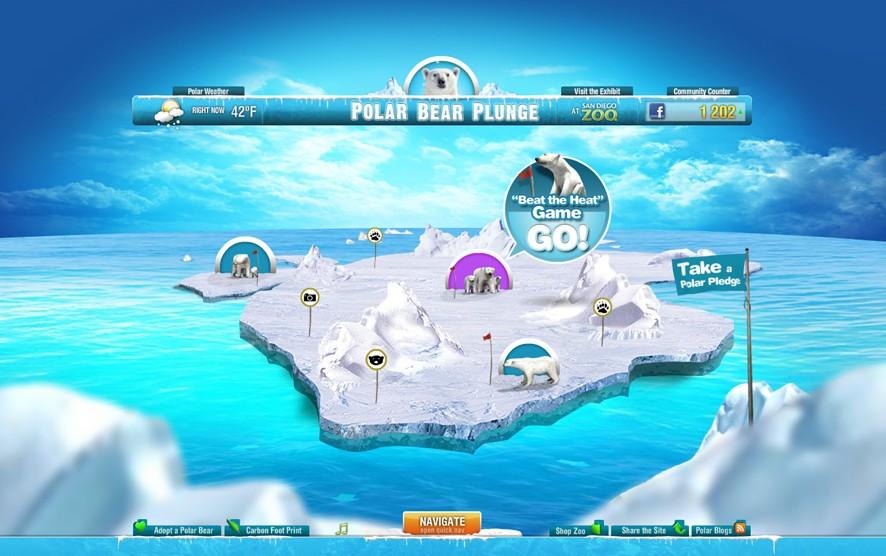 San Diego Zoo: Polar Bear Plunge