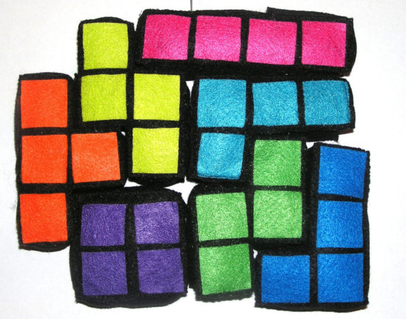 Plush Tetris Blocks