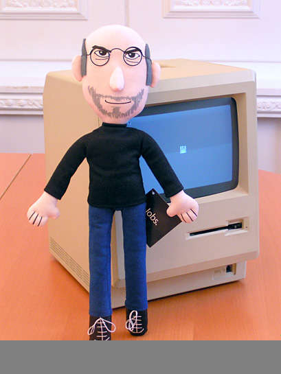 Steve Jobs Stuffed Toy
