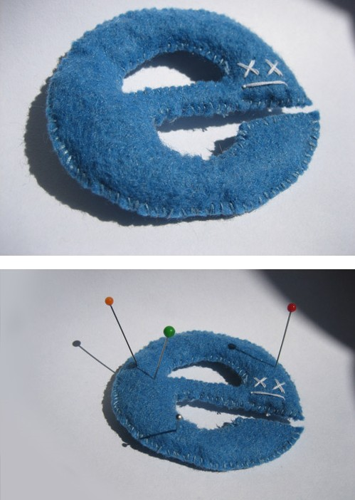 Internet Explorer plush voodoo