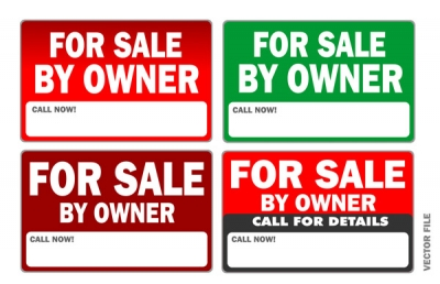 Vector Signs: For Sale By Owner