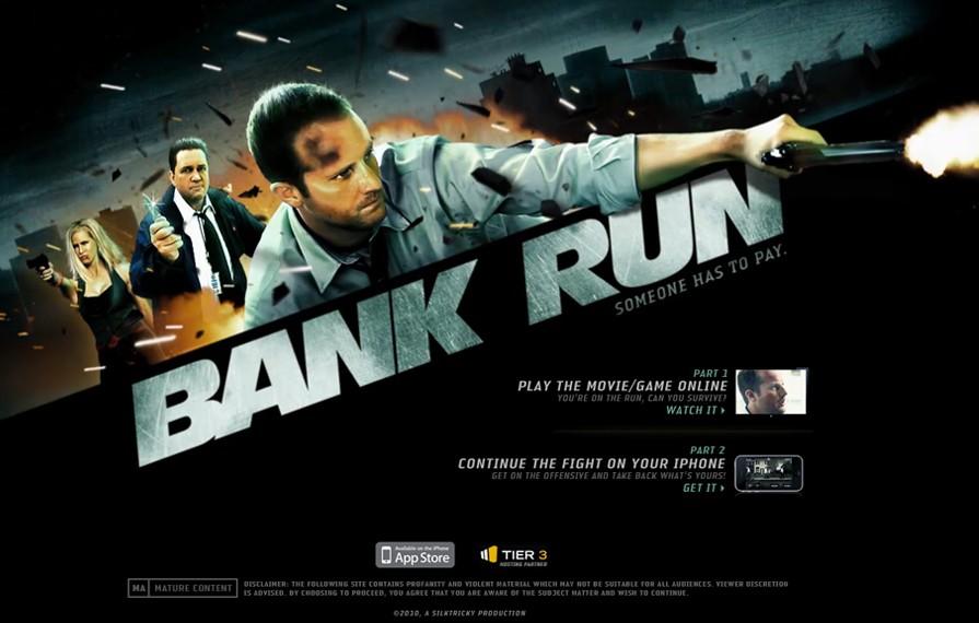 Bank Run Game