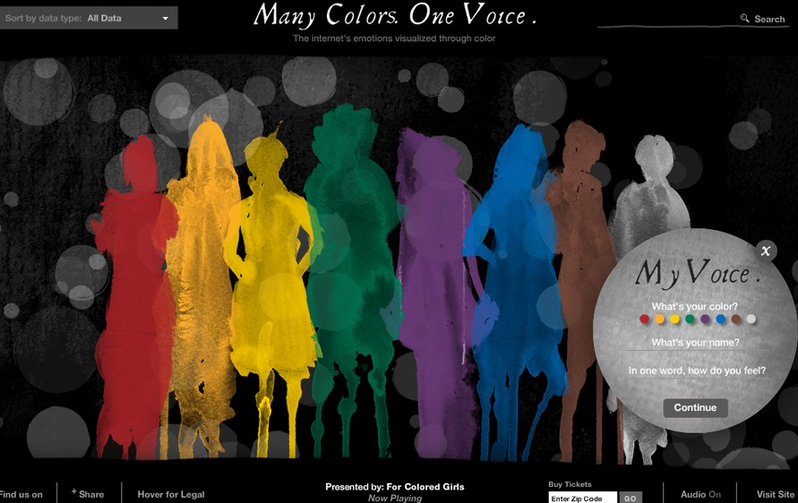 For Colored Girls - Emotions in color