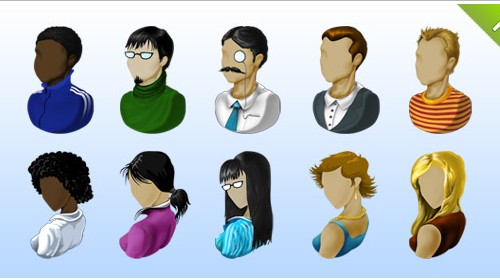 Ultimate People Icon Set