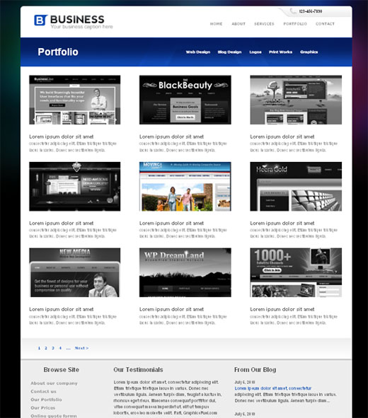 Portfolio Page CSS/HTML